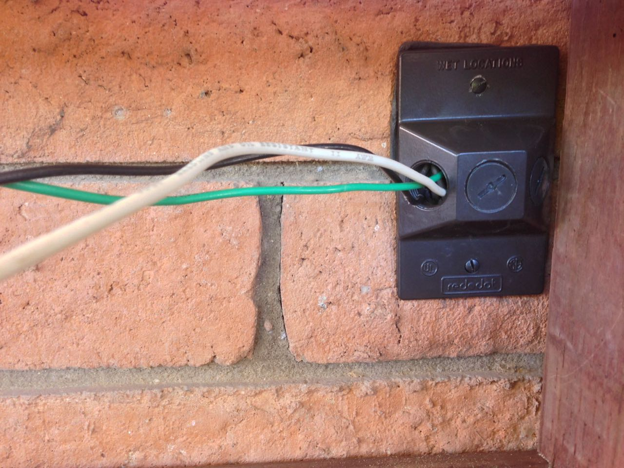 How To Extend An Exterior Electrical Outlet Granworks Conduit For Outdoor Wiring I Had Never Worked With Liquid Tight Flexible Before And Was Excited Try It Out This Project Exceeded My Expectations On Ease Of Use