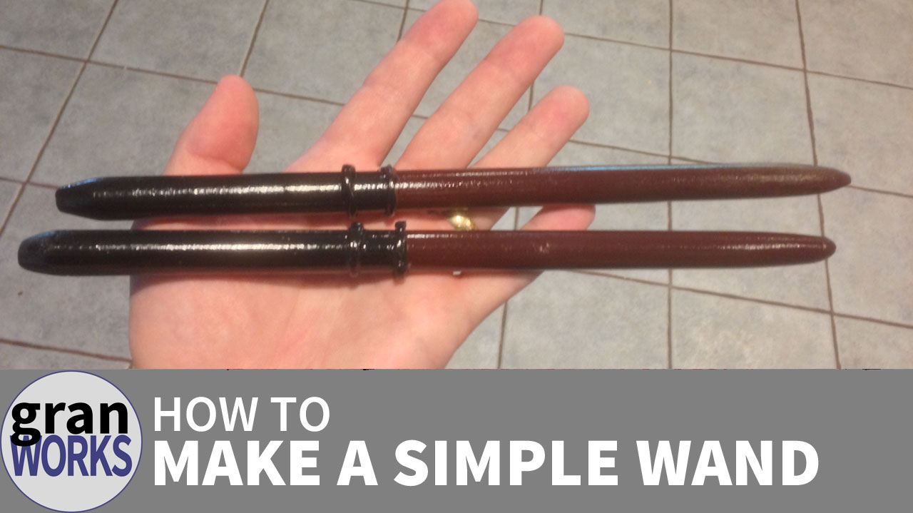 How To Make a Simple Wand
