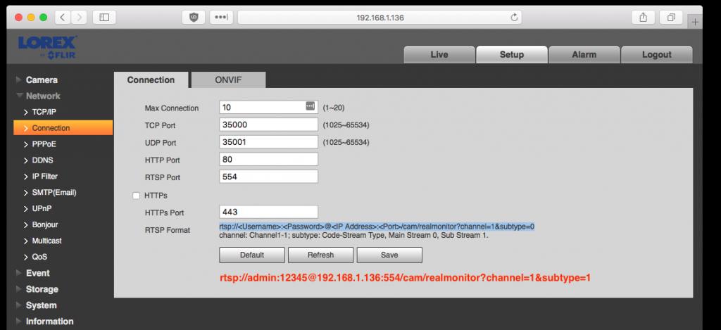 Installing Lorex LNB4421 PoE IP Security Cameras - granworks